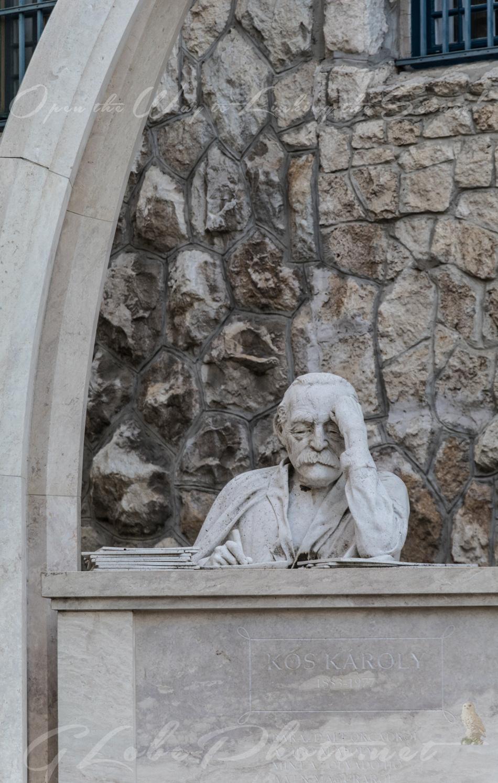 Kós Károly emlékműve a Városmajorban – Memorial in honour of architect Károly Kós