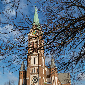 Catholic Church in Pesterzsébet, Budapest 20th district