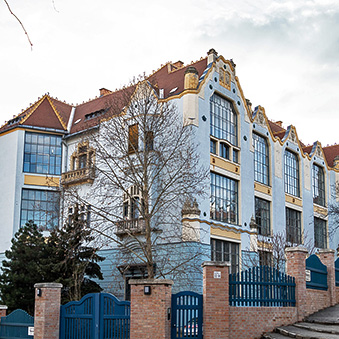 Art Nouveau House of Artists on Gellért Hill